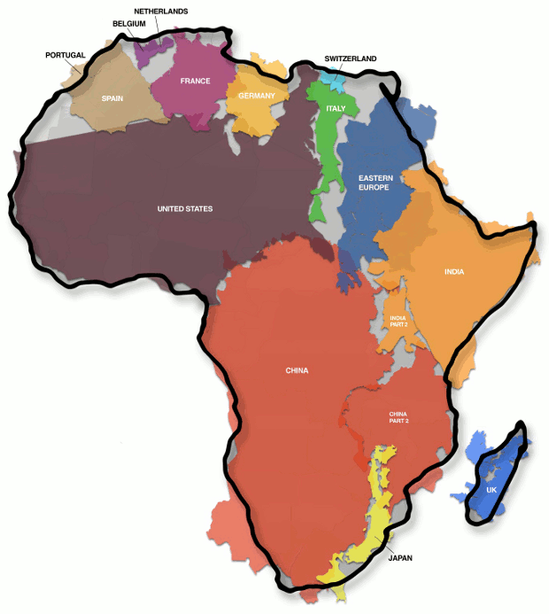 Africa-true-size-peters-projection-map