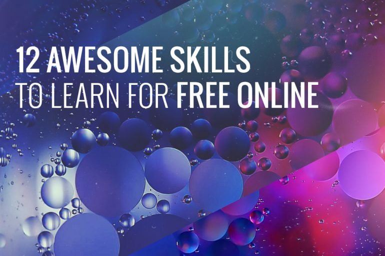 12-awesome-skills-to-learn-for-free-online