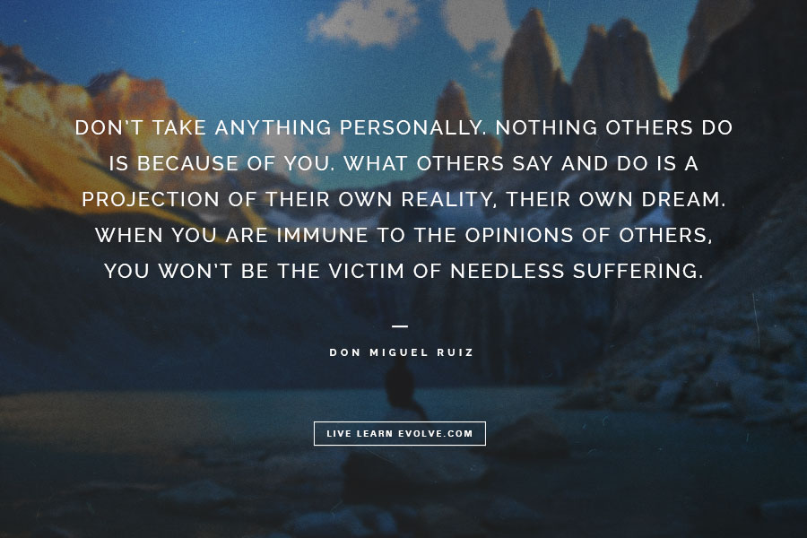 Image result for Eckhart tolle quotes on taking it personal