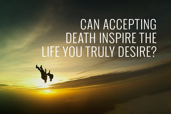 accepting death The death of a loved one can leave you feeling empty and alone while grieving  is a natural reaction to your loss, the process can make it hard.
