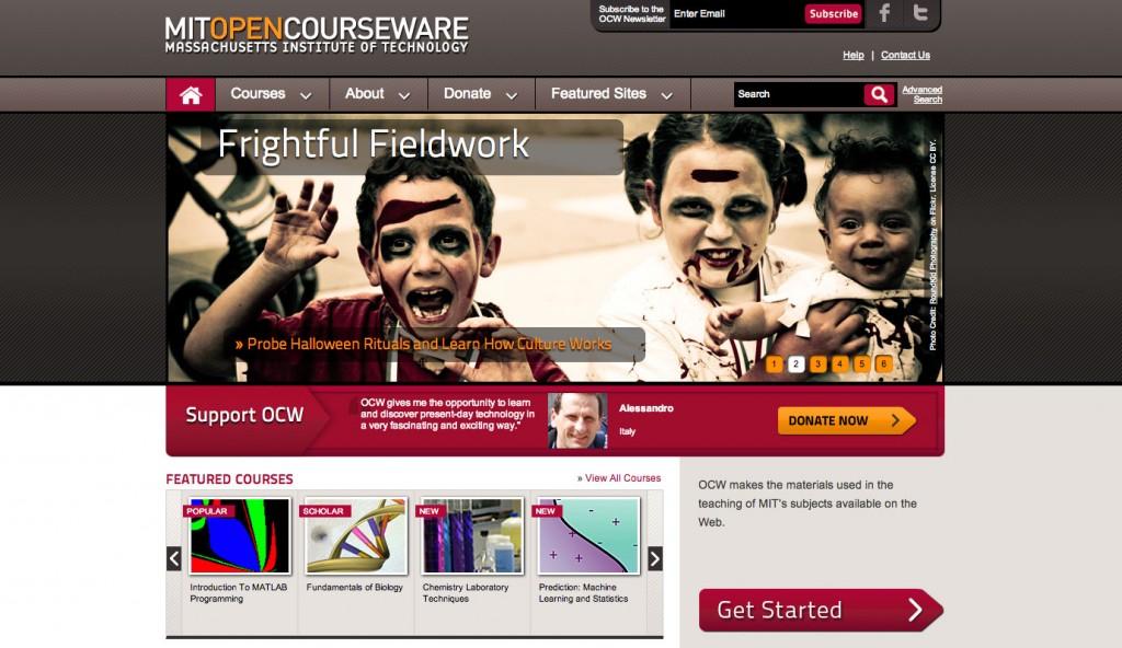 MIT-course-genius-websites