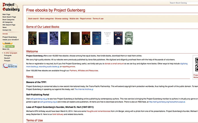 project_gutenberg_free_literature_books