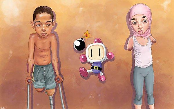 Luis-Quiles-disturbing-illustrations