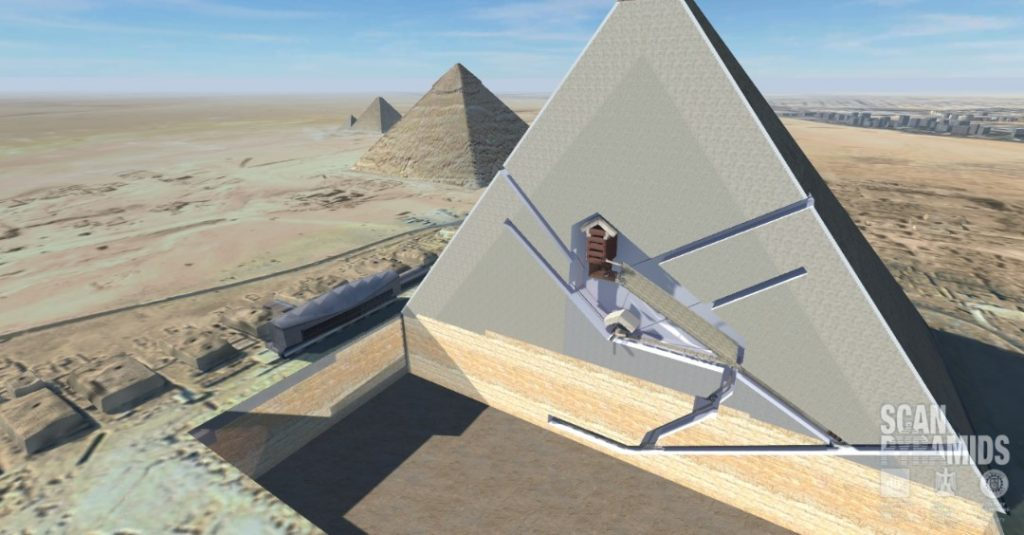 Mysterious Hidden Chamber Great Pyramid